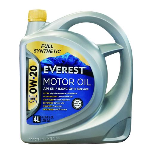 Full Synthetic Everest Motor Oil