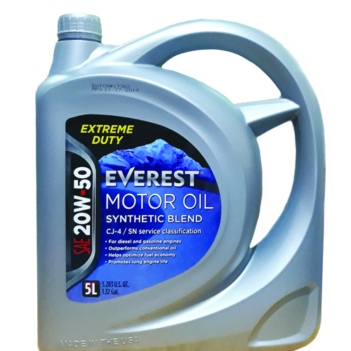Extreme Duty 20W-50 CJ-4/ SN Everest Motor Oil